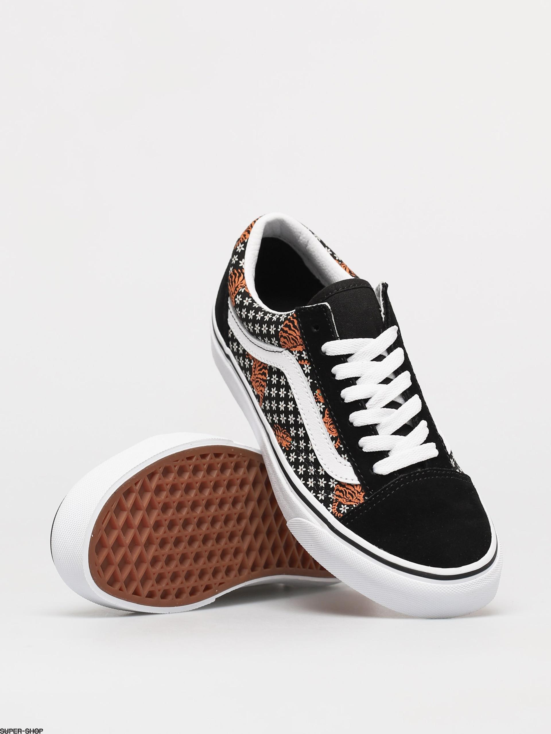 Vans Old Skool Shoes (tiger floral