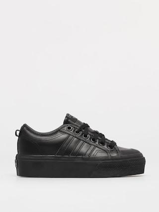 adidas Originals Nizza Platform Shoes Wmn (cblack/cblack/cblack)