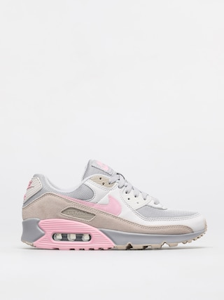 Nike Air Max 90 Shoes (vast grey/pink wolf grey string)