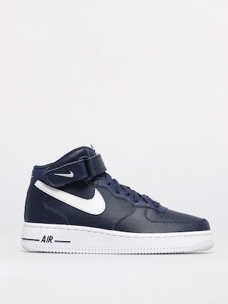 Nike Air Force 1 Mid 07 Shoes (midnight navy/white)