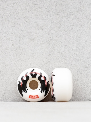 Globe G1 Wheels (white/black/flames)