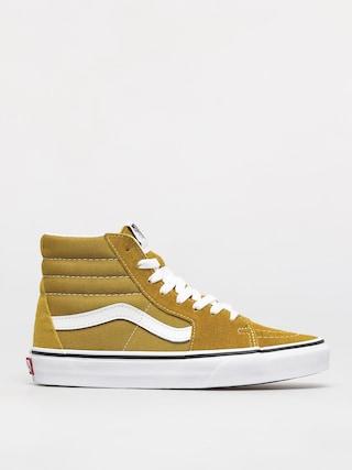 Vans Sk8 Hi Shoes (olive oil/true white)
