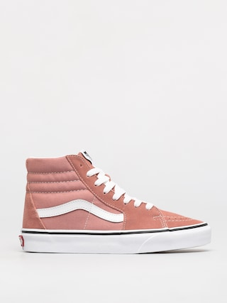 Vans Sk8 Hi Shoes (rose dawn/true white)