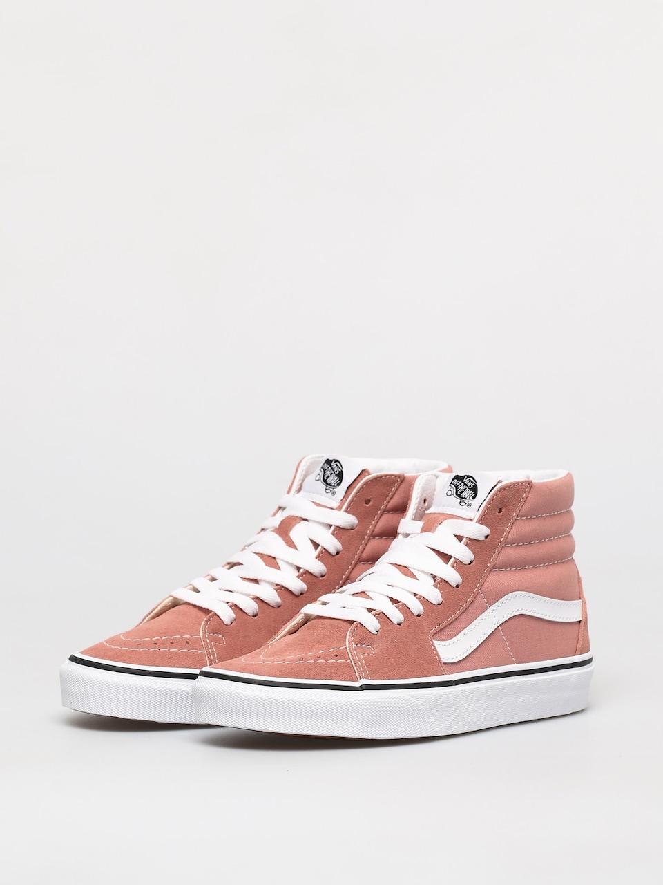 Vans Sk8 Hi Shoes (rose dawn/true white)