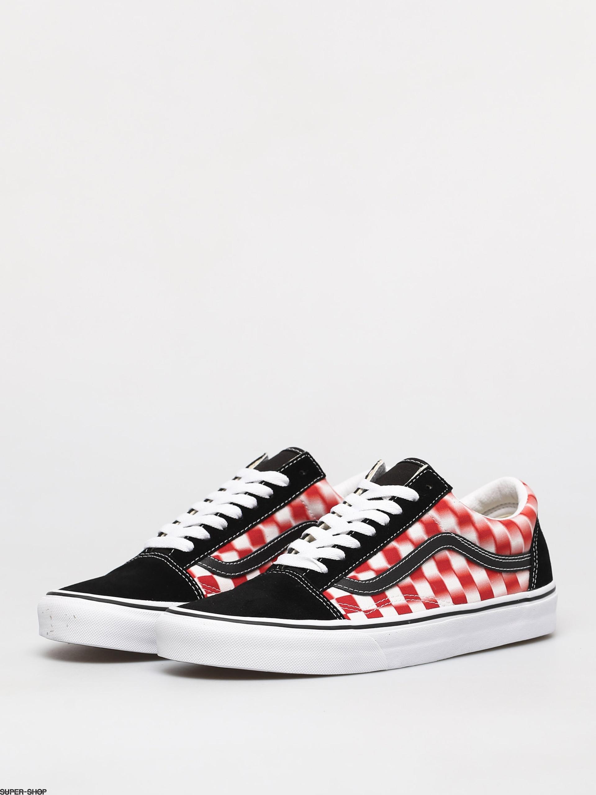 Vans Old Skool Shoes (blur check/true