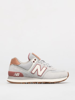 New Balance 574 Shoes Wmn (grey/pink)