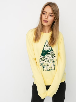 Volcom Sound Check HD Hoodie Wmn (faded yellow)
