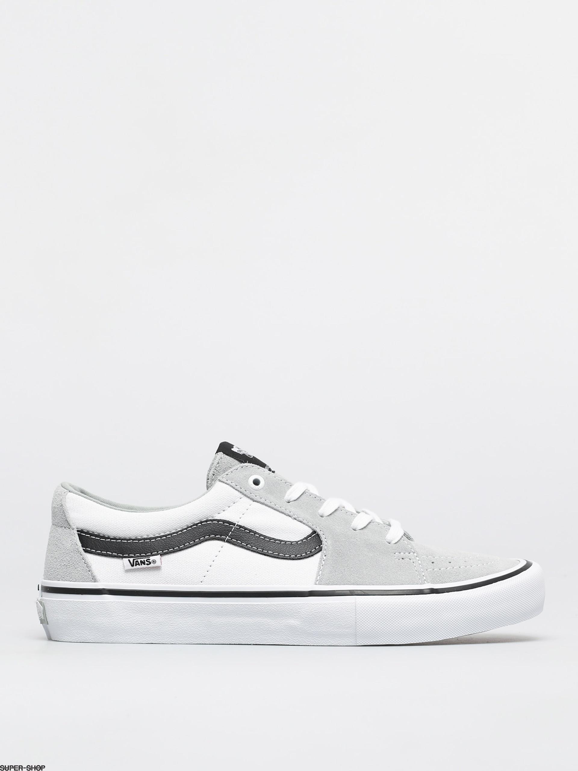 Vans Sk8 Low Pro Shoes (mirage/white)
