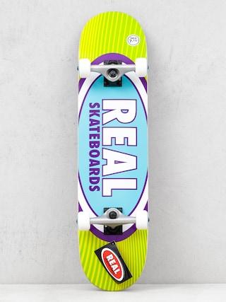 Real Rays Skateboard (yellow/green)