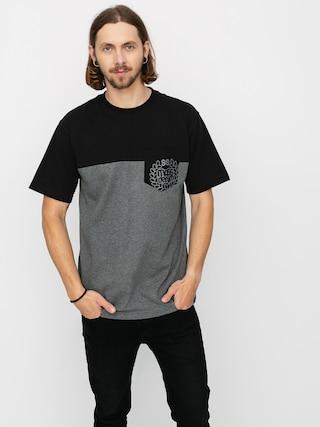 MassDnm Pocket Base T-shirt (dk heather grey)