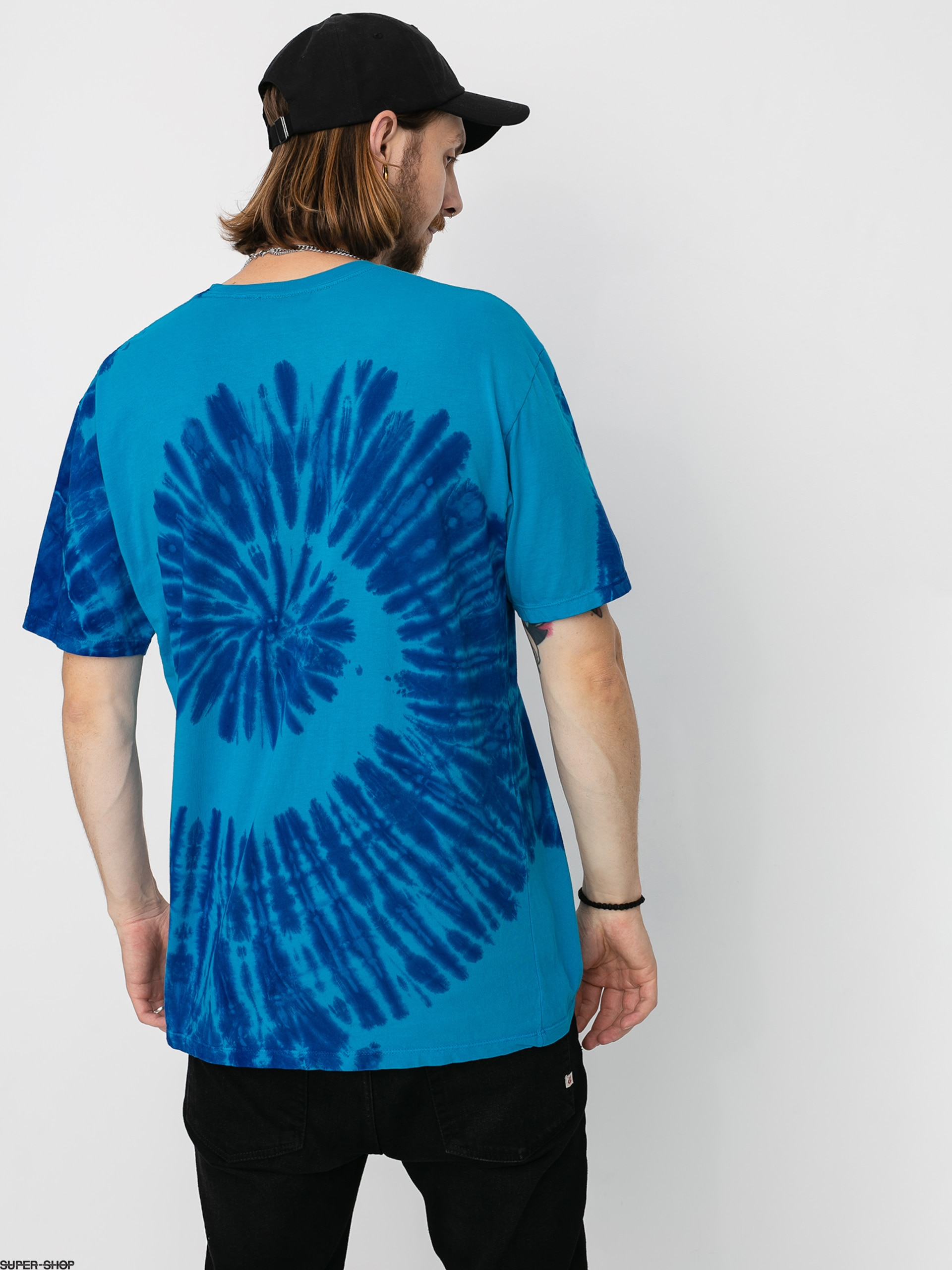 HUF Viral T-Shirt Pacific Blue
