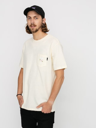 HUF Central Park Pocket T-shirt (cream)