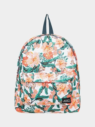 Roxy Sugar Baby Printed Backpack Wmn (bright white mahe rg s)
