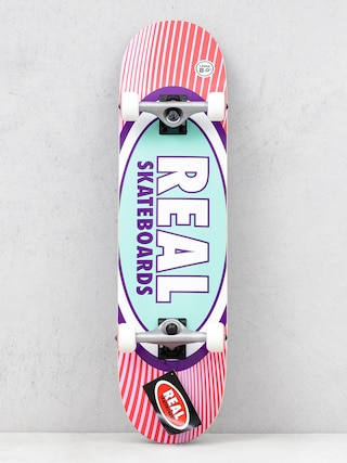 Real Rays Skateboard (red/pink)