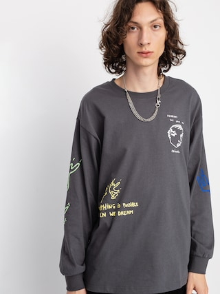 Polar Skate Notebook Longsleeve (graphite)