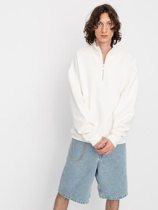 Polar Skate Zipneck Sweatshirt (ivory)