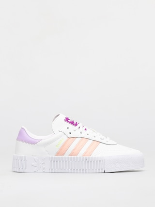 adidas Originals Sambarose Shoes Wmn (ftwwht/hazcor/shopur)