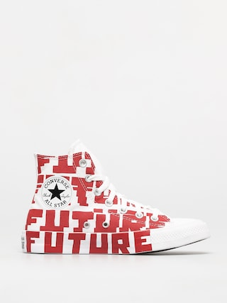 Converse Chuck Taylor All Star Hi Chucks (university red/white/white)