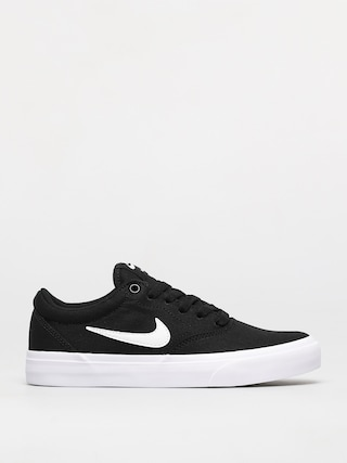 Nike SB Charge Canvas Shoes (black/white black)