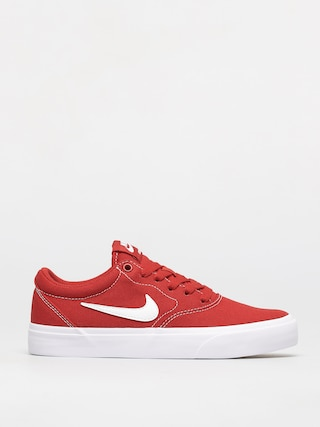 Nike SB Charge Canvas Shoes (mystic red/white)