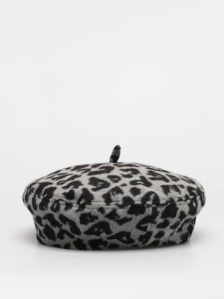 Brixton Audrey Beret Flat cap Wmn (aluminum/black leopard)