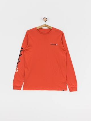 Quiksilver Check Yo Self Longsleeve (chili)
