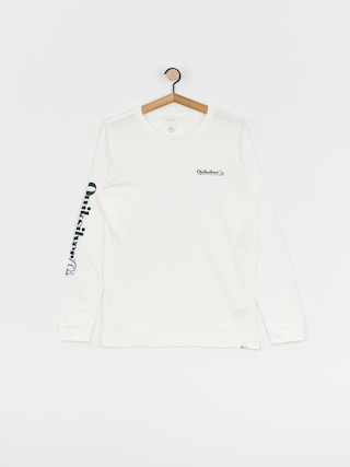Quiksilver Check Yo Self Longsleeve (white)