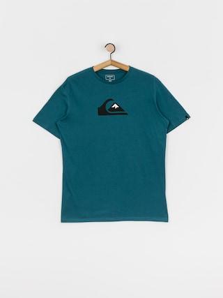 Quiksilver Comp Logo T-shirt (blue coral)