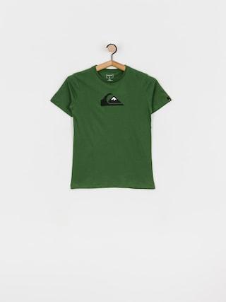 Quiksilver Comp Logo T-shirt (greener pastures)