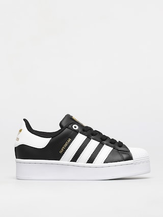 adidas Originals Superstar Bold Shoes Wmn (cblack/ftwwht/goldmt)