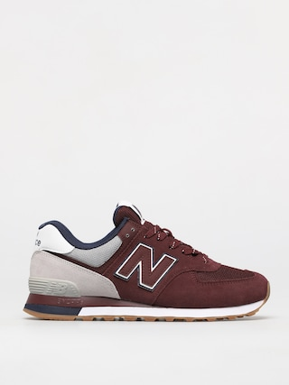 New Balance 574 Shoes (red)