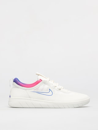 Nike SB Nyjah Free 2 T Shoes (summit white/racer blue pink blast)