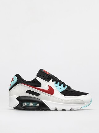 Nike Air Max 90 Shoes Wmn (summit white/chile red bleached aqua)
