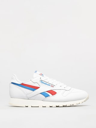 Reebok Classic Leather Shoes (white/insred/dynblu)