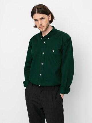 Carhartt WIP Madison Shirt (bottle green/wax)