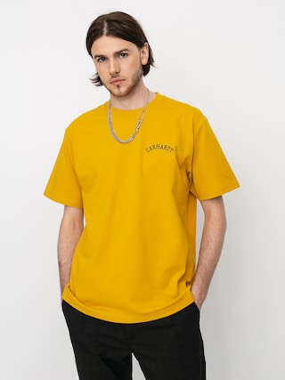 Carhartt WIP University Script T-shirt (colza/black)