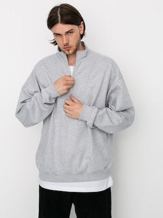Polar Skate Zipneck Sweatshirt (sport grey)