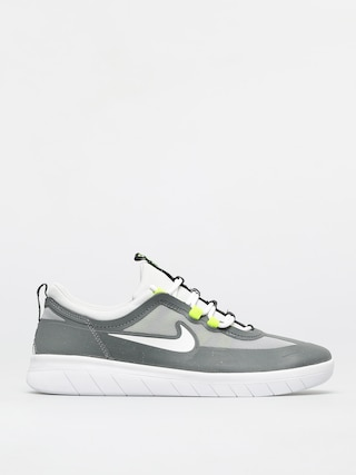 Nike SB Nyjah Free 2 0 Shoes (smoke grey/white lt smoke grey)