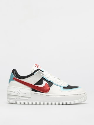 Nike Af1 Shadow Shoes Wmn (summit white/chile red bleached aqua)