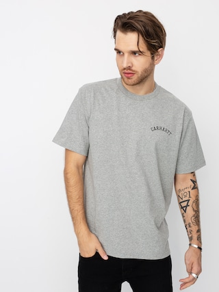 Carhartt WIP University Script T-shirt (grey heather/black)