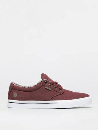 Etnies Jameson 2 Eco Shoes (burgundy/tan/white)