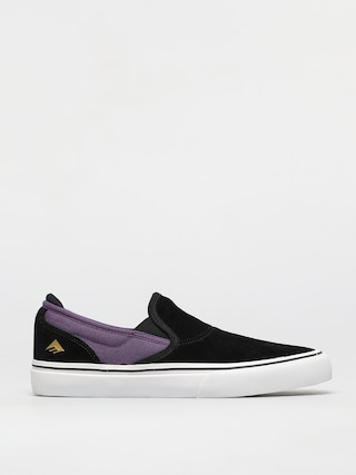 Emerica Wino G6 Slip On Shoes (black/purple)