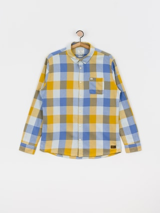 Quiksilver Motherfly Flannel Shirt (honey motherfly)