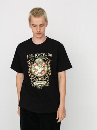 Nervous 20 Ann Jewel T-shirt (black)