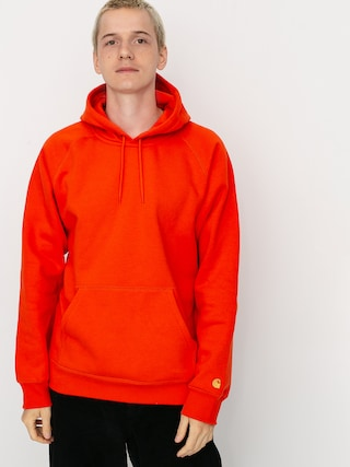 Carhartt WIP Chase HD Hoodie (safety orange/gold)