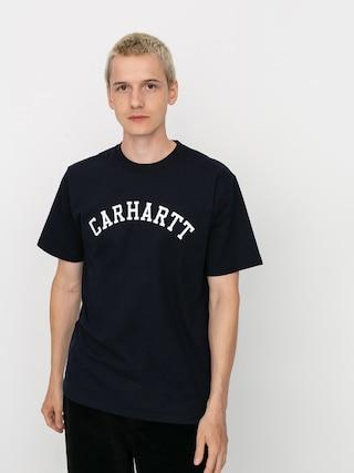 Carhartt WIP University T-shirt (dark navy/white)