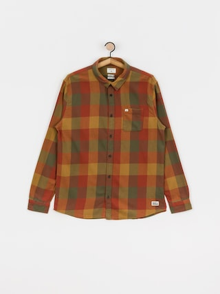 Quiksilver Motherfly Flannel Shirt (henna motherfly)
