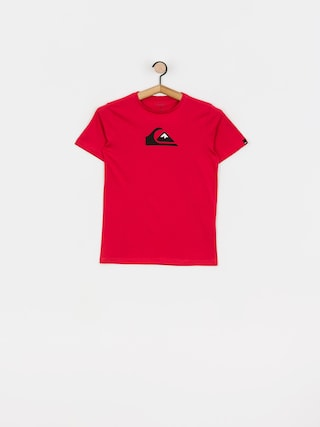 Quiksilver Comp Logo T-shirt (american red)
