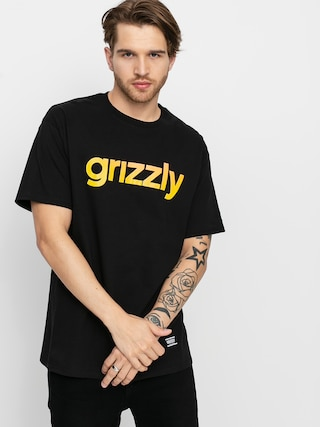 Grizzly Griptape X Champion Lowercase Fadeaway T-shirt (black)