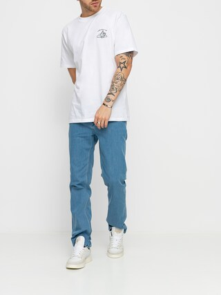 Volcom Solver Denim Pants (flat vintage indigo)